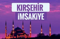 2018 İmsakiye Kırşehir- Sahur imsak vakti iftar ezan saatleri