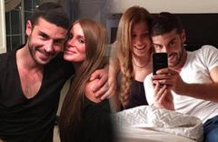 Çıplak görüntüleri sızmıştı Berk Oktay Merve Şarapçıoğlu boşanıyor iddialar fena