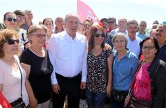 CHP'liler Yunanistan'da gözaltına alındı