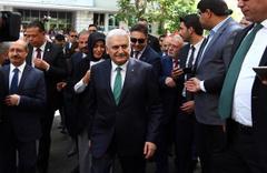 Yıldırım ve Bahçeli Erdoğan'ın adaylığı için YSK'da!