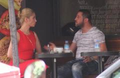 Nihat Kahveci sevgilisi Fulya Sever'e önce kızdı, sonra sevdi