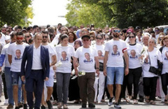 Fransa'da binlerce kişi 'Engin' için yürüdü