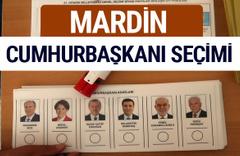 Mardin Cumhurbaşkanları oy oranları YSK Sandık sonuçları