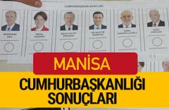 Manisa Cumhurbaşkanlığı seçim sonucu 2018 Manisa sonuçları