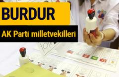 AK Parti Burdur Milletvekilleri 2018 - 27. dönem AKP isim listesi