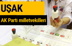 AK Parti Uşak Milletvekilleri 2018 - 27. dönem AKP isim listesi