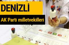AK Parti Denizli Milletvekilleri 2018 - 27. dönem AKP isim listesi