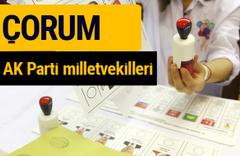 AK Parti Çorum Milletvekilleri 2018 - 27. dönem AKP isim listesi