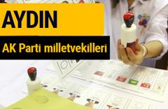 AK Parti Aydın Milletvekilleri 2018 - 27. dönem AKP isim listesi