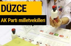 AK Parti Düzce Milletvekilleri 2018 - 27. dönem AKP isim listesi