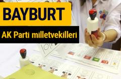 AK Parti Bayburt Milletvekilleri 2018 - 27. dönem AKP isim listesi