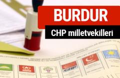 CHP Burdur Milletvekilleri 2018 - 27. dönem Burdur listesi