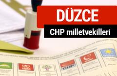 CHP Düzce Milletvekilleri 2018 - 27. dönem Düzce listesi