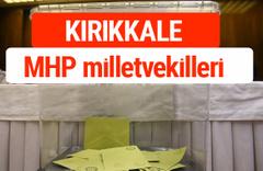 MHP Kırıkkale Milletvekilleri 2018 -27. Dönem listesi