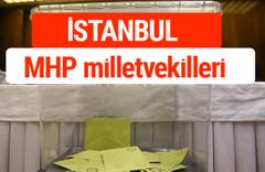 MHP İstanbul Milletvekilleri 2018 -27. Dönem listesi