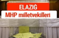 MHP Elazığ Milletvekilleri 2018 -27. Dönem listesi