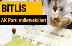 AK Parti Bitlis Milletvekilleri 2018 - 27. dönem AKP isim listesi