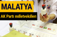 AK Parti Malatya Milletvekilleri 2018 - 27. dönem AKP isim listesi