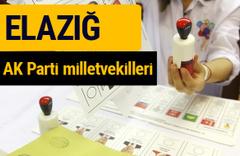 AK Parti Elazığ Milletvekilleri 2018 - 27. dönem AKP isim listesi