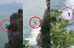 'Oğluma iyi bakın' deyip 35 metreden böyle ölüme atladı