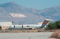 44 yıldır tek uçak inmiyor: Lefkoşa Havalimanı son hali!