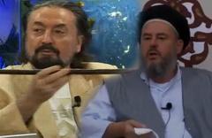 Adnan Oktar'a 'Asa' hediye eden Nakşibendi şeyhi çark etti