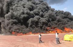 Antalya'da çok büyük yangın! Korku dolu anlar...