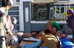 Endonezya'da 6.4 büyüklüğünde deprem! Onlarca ölü ve yaralı var