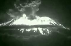 Agung yanardağı patladı