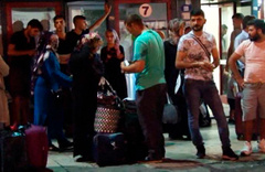 İstanbul otogarında bayram yoğunluğu