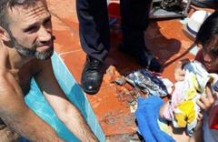 Fethiye'de yüzme havuzunda şoke eden kaza