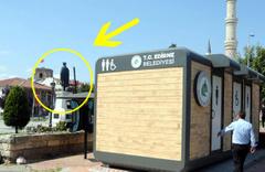 Edirne'de tuvalet krizi! Belediye helası olay oldu valilik açıklama yaptı