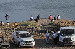 Dicle Nehri'ne giren 2 işçi kayboldu!