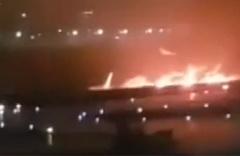 Rusya'da yolcu uçağı pistten çıktı! Yaralılar var