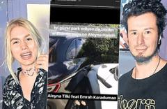 Aleyna Tilki sevgilisiyle inatlaşmış! Olan 700 Bin TL'lik arabaya oldu