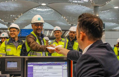 İstanbul Yeni Havalimanı'nda ilk yolcu testi gerçekleştirildi