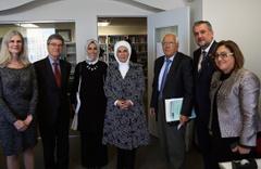 Şahin Emine Erdoğan ile ABD'de sıfır atık projesini görüştü