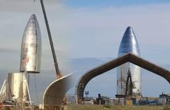 Mars'a gidecek SpaceX Starship ilk kez görüntülendi