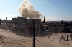 Rus savaş uçakları İdlib'i vurdu! Ölü ve yaralılar var