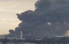İzmir'de dumanlar yükseldi fabrikada yangın