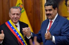 Erdoğan Maduro'ya destek verdi: Trump beni şoke etti