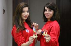 Milli sporcu ikiz kardeşlere burs şoku