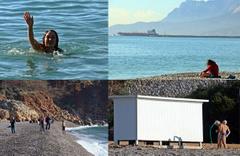 Antalya 4 gündür felaket yaşıyordu şimdi ise günlük güneşlik