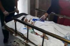 6 yaşındaki oğlunu öldüresiye dövdü durumu kritik