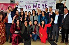 HDP'nin tanıtım toplantısında PKK rezaleti