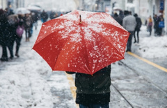 Kırklareli hava durumu son tahmin tuttu kar bastırdı