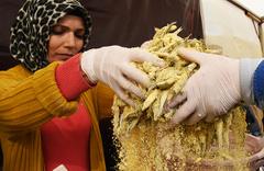 4. Bodrum Hamsi Festivali'nde 3 ton hamsi tüketildi