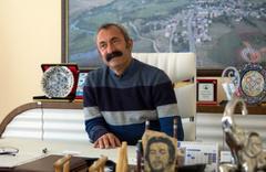 Ovacık'ın komünist başkanından sürpriz adaylık