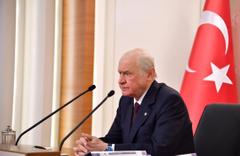 MHP lideri Bahçeli'den MYK'de 'milli beka' vurgusu