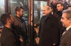 İçişleri Bakanı Soylu, esnaf ziyaretlerinde bulundu